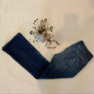 7 For All Mankind 'A' pocket jeans, dark wash